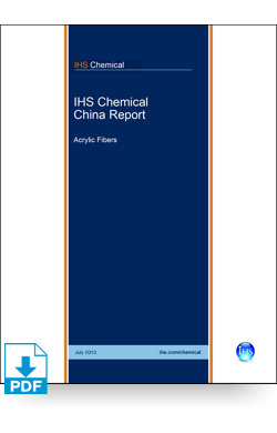 Image for China Report: Acrylic Fibers from IHS Markit