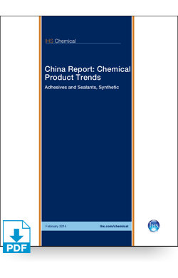 Image for China Report: Synthetic Adhesives & Sealants from IHS Markit