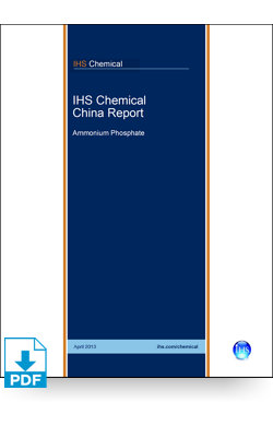 Image for China Report: Ammonium Phosphates from IHS Markit