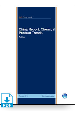 Image for China Report: Aniline from IHS Markit