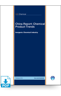 Image for China Report: Inorganic Chemical Industry Overview from IHS Markit