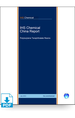 Image for China Report: Polybutylene Terephthalate Resins from IHS Markit