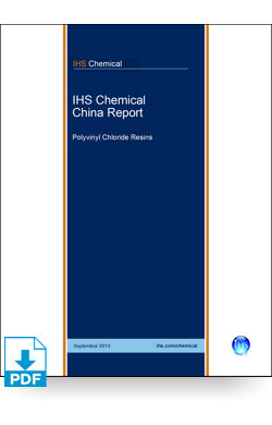 Image for China Report: Polyvinyl Chloride Resins from IHS Markit