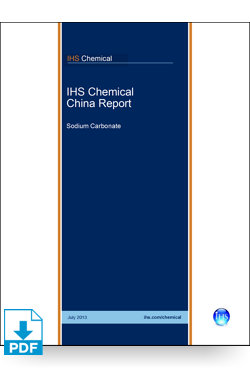 Image for China Report: Sodium Carbonate from IHS Markit