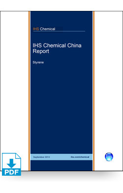 Image for China Report: Styrene from IHS Markit