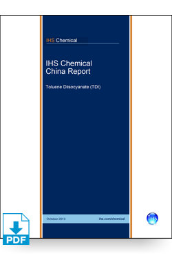 Image for China Report: Toluene Diisocyanate from IHS Markit