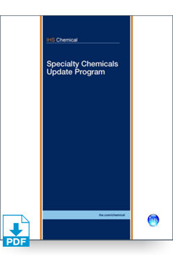 Image for SCUP: Specialty Paper Chemicals from IHS Markit