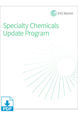 Image for SCUP: Overview of the Specialty Chemicals Industry from IHS Markit