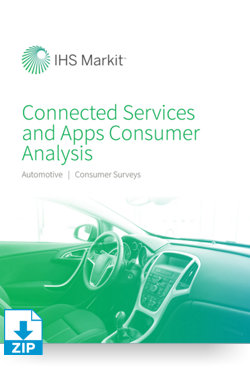 Image for Automotive Connected Services and Apps Consumer Analysis from IHS Markit