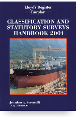 Image for Classification & Statutory Surveys Handbook from IHS Markit