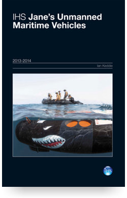 Image for Unmanned Maritime Vehicles Yearbook 13/14 from IHS Markit