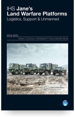 Image for Land Warfare Platforms: Logistics, Support & Unmanned Yearbook 14/15 from IHS Markit
