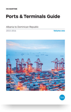 Image for Ports & Terminals Guide Directory 15/16 from IHS Markit