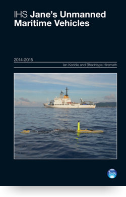 Image for Unmanned Maritime Vehicles Yearbook 14/15 from IHS Markit