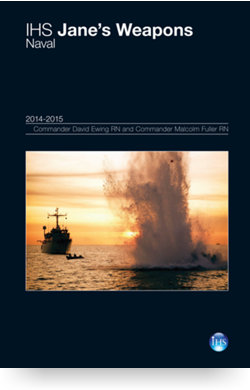 Image for Weapons: Naval Yearbook 14/15 from IHS Markit