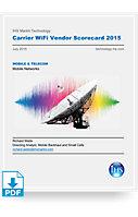 Carrier WiFi Vendor Scorecard - 2015