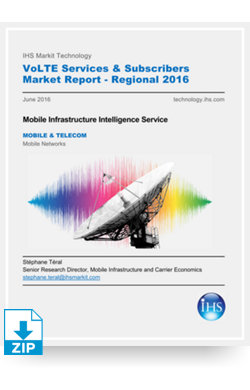 Image for VoLTE Services & Subscribers Market Report - Regional 2016 from IHS Markit