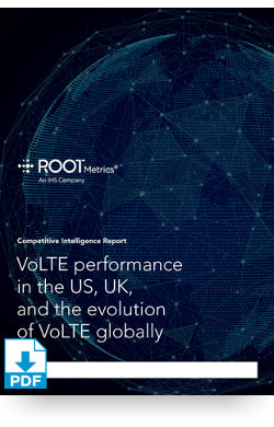 Image for VoLTE Performance Report 2016 from IHS Markit
