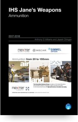Image for Weapons: Ammunition Yearbook from IHS Markit