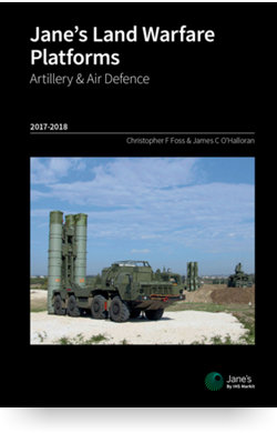 Image for Land Warfare Platforms: Artillery & Air Defence Yearbook from IHS Markit