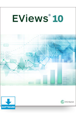 Image for Academic EViews 10 Enterprise Edition Standalone for Windows from IHS Markit