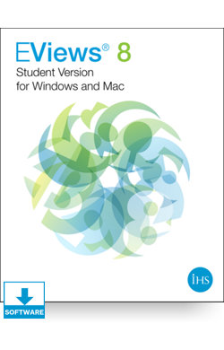 Image for EViews 8 Student Version for Windows and Mac from IHS Markit