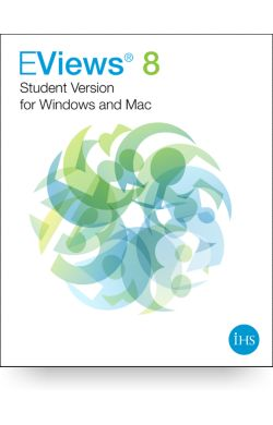 EViews 8 Student Version for Windows and Mac