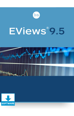 Image for Commercial EViews 9.5 Standard Edition Single-User License for Windows from IHS Markit